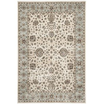 Safavieh Persian Garden PEG610K Ivory / Light Blue