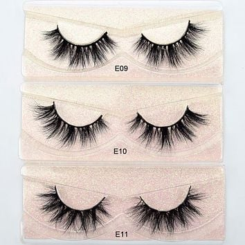 3D Mink Handmade Reusable Eyelashes