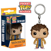 Doctor Who 10th Doctor Pocket Pop! Vinyl Figure Key Chain - Funko - Doctor Who - Key Chains at Entertainment Earth