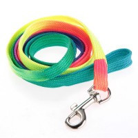 Safety Colorful Walking Harness Collar Leash Lead Flat for Pet Dog Puppy - Default