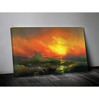The Ninth Wave by Ivan Aivazovsky Print