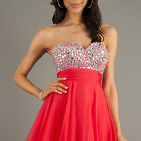 Strapless Party Dress by Alyce Paris