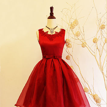 Red Prom / Formal Isabelle dress