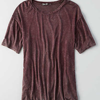 Don't Ask Why Slouchy T-Shirt, Wine