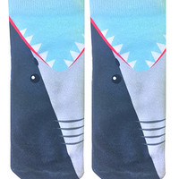 Shark Bite Ankle Socks