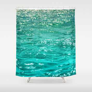 SIMPLY SEA Shower Curtain by Catspaws