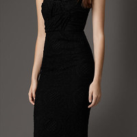 Fitted English Lace Dress