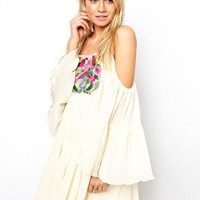 ASOS Sundress With Embroidery at asos.com