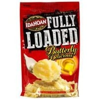 Idahoan Fully Loaded Buttery Delicious Mashed Potatoes, 4-oz. Packs