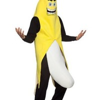 Banana Flasher Costume - One Size - Chest Size 42-48