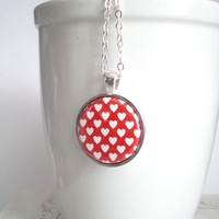 END OF YEAR Sale Valentine's Day. Heart Necklace. Love Necklace. Gifts For Her. Gifts Under 15.