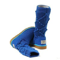 One-nice™ UGG Women Fashion Wool Winter Snow Boots In Tube Boots Shoes