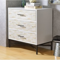 Oriole 3 Drawer Nightstand