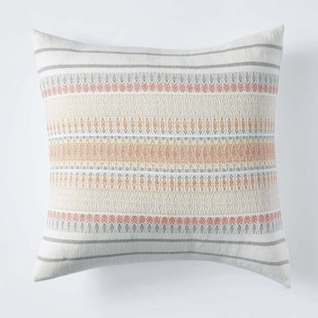 Lost Coast Coral Pillow by Coyuchi