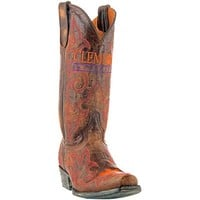 Gameday Clemson Tigers Cowboy Boots - Brown