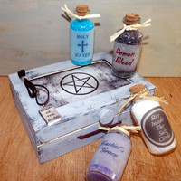 Supernatural Bath Salts Set