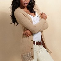 Oversized Angora Cardi Sweater - Victoria's Secret