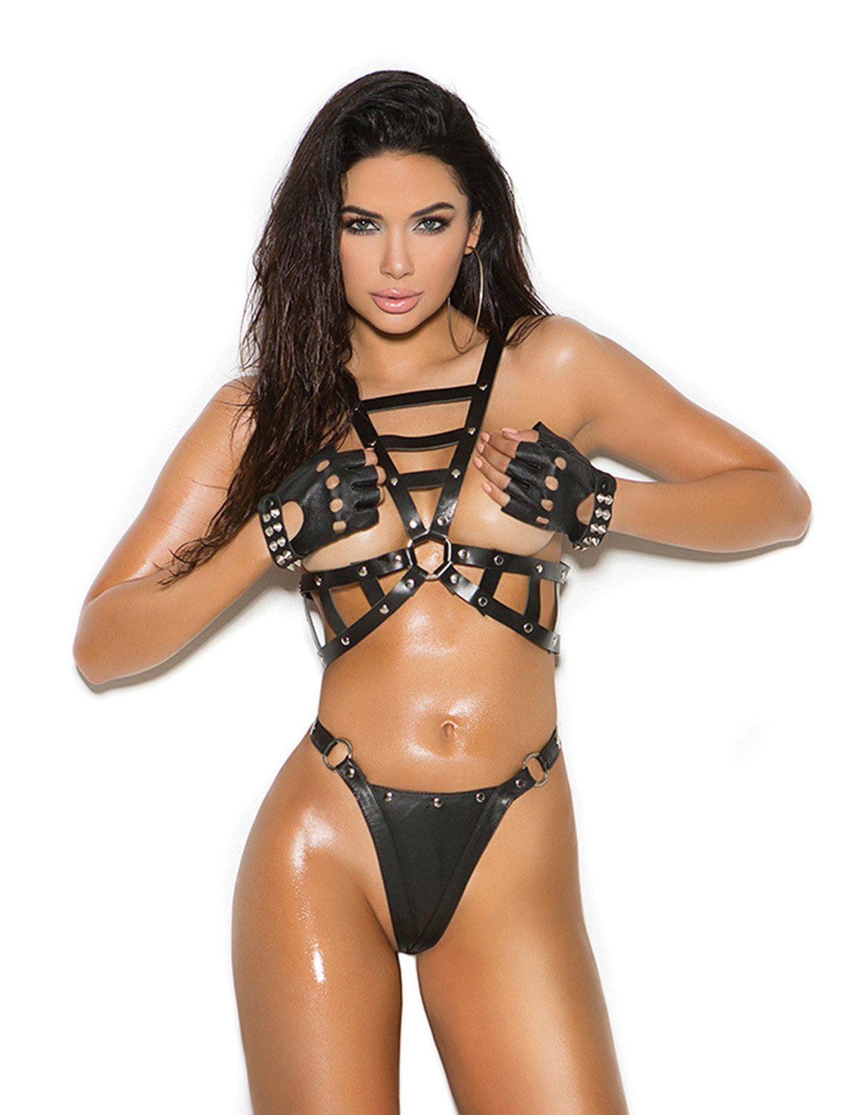 Image of Leather Harness Set