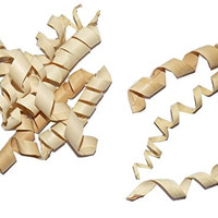 All Natural Palm Springs - Chew Toy For Rabbits, Guinea Pigs, Chinchillas, Birds, Gerbils, Hamsters, and Other Small Pets (Set of 10 Palm Twirls That Can Be Intertwined In Cage Bars)