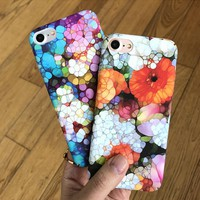 Vintage Floral Pattern Case for iPhone X 8 7 6S Plus &Gift Box