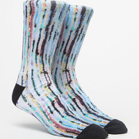 On The Byas Swinging Rug Multicolor Crew Socks at PacSun.com