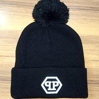 Perfect Philipp Plein Hip Hop Women Men Beanies Winter Knit Hat Cap