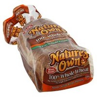 Nature's Own 100% Whole Wheat Bread 16 oz : Target