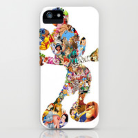 Mickey Mouse Silhouette iPhone & iPod Case by Christa Morgan ☽