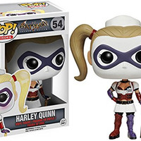 Funko Batman Arkham Asylum Pop Vinyl SET - Batman, Joker and Harley Quinn