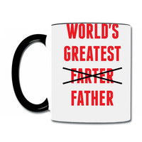 worlds greatest farter father Coffee & Tea Mug