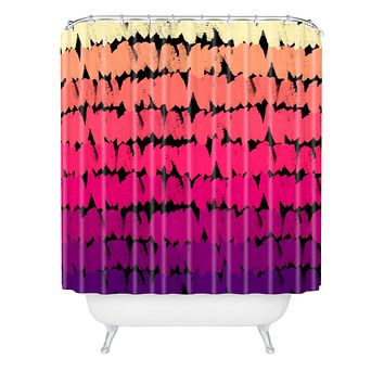 Rebecca Allen To The Pinks Shower Curtain