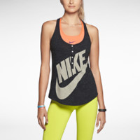 Nike Gym Vintage Women's Tank Top - Black
