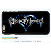Kingdon Hearts; Custom Phone Case for iPhone 4/4s, 5/5s, 6/6s+ and iPod Touch 5