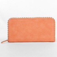Scalloped Trim Wallet - Women's Bags | Buckle