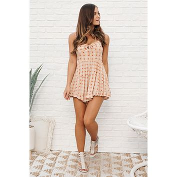 Sweetest Soul Romper (Ginger)