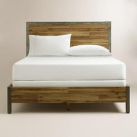 Wood and Metal Aiden Bed