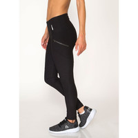 RBX Active Lumen Seamed Fashion Legging with Zipper Side Pockets