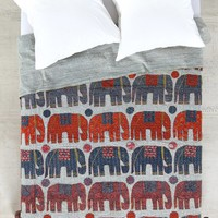 Magical Thinking One-Of-A-Kind Handmade Elephant Stamp Quilt - Urban Outfitters