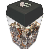 Perfect Solutions Digital Coin Counting Countdown Bank