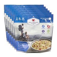 Wise Company Camping Meals - Strawberry Granola Crunch (Case of 6 Pouches)