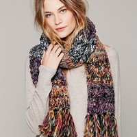 Knitted Meena Scarf