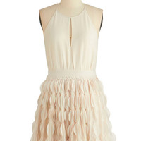 ModCloth Short Length Spaghetti Straps A-line Chimerically Yours Dress