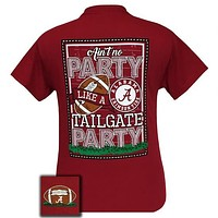 Alabama Crimson Tide Tuscaloosa Tailgate Party T-Shirt