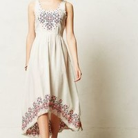 Cissie Embroidered Dress by Holding Horses White