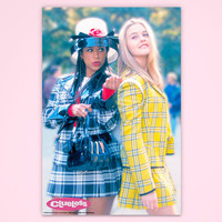 """Clueless Poster, """"Dramatic Relationship"""", Cher Clueless, Officially Licensed, Movie Poster"""