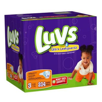Luvs With Ultra Leakguards Size 3 Diapers 204 Count | deviazon.com