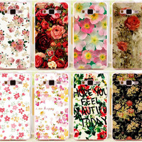Beautiful Brilliant Rose Peony Flower PC Phone Case Cover Skin Shell For Samsung Galaxy Grand Prime G530 G530H G5308w Cases