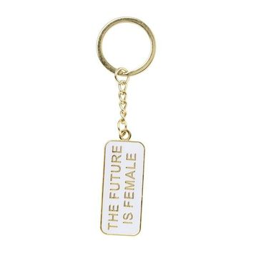 The Future Is Female -- Keychain