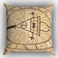 Gravity Falls Wiki X0570 Zippered Pillows  Covers 16x16, 18x18, 20x20 Inches