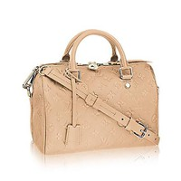 Tagre™ Louis Vuitton Speedy Bandoulière 25 Cross Body Leather Handles Bag Article: M41192 Made in France